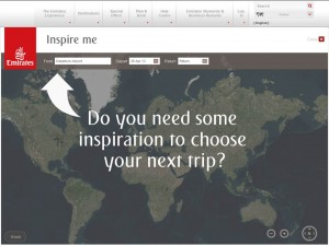 Inspire Me Map