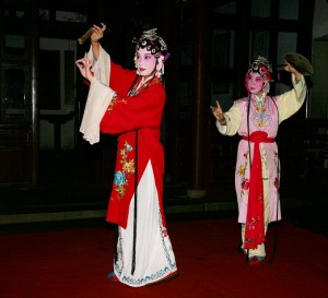 Kunqu Performance at Master-of-the-net Garden