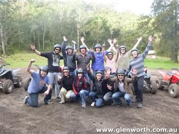 2.QH Quad biking in Glenworth Valley