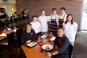 Budding young chefs practice their dishes for finale dinner at Crowne Plaza Queenstown_media