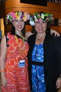Kerryn Cook GM and Karla Eggelton, Director of Sales, Cook Islands