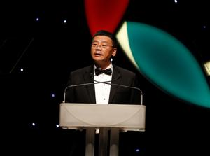Henry He at Ethnic Business Awards