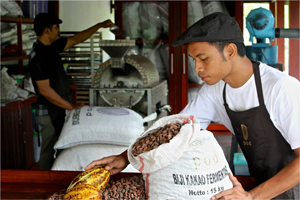 Pod Chocolate: One of the key suppliers providing sustainable produce to Conrad Bali to create the exclusive new menu