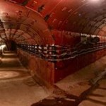 PART of the 600m of secret inter-connecting tunnels 65m under Moscow. (Bunker42)