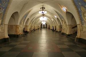TAGANSKAYA Railway Station, Moscow: the West trickedinto not knowing what was    going on below. (MoscowInfoInc)