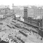 Sydney railway_sq_c1922 with 2 MClark Buildings. RTM