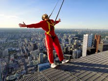 One for adrenalin junkies ... Toronto's EdgeWalk.