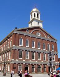 Faneuil Hall opened as a market in 1742 and continues to be one of the best spots for shopping in Boston.