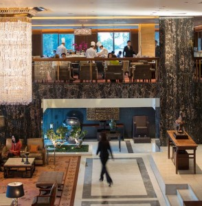 Clipper Lounge at Mandarin Oriental, Hong Kong