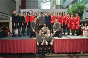 Frontline staff from around Cathay Pacific and Dragonair's networks were honoured for extraordinary acts of service in the annual Betsy Awards.