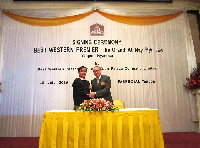 Nay Pyi Taw Project Signing Ceremony