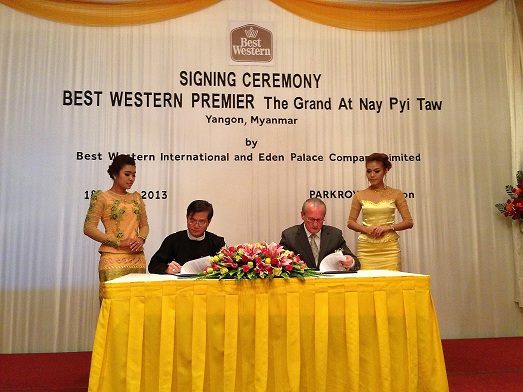 BW - Nay Pyi Taw Project Signing Ceremony