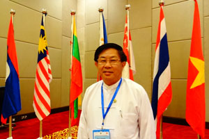 Director General, Ministry of Hotels and Tourism Myanmar Aung Zaw Win