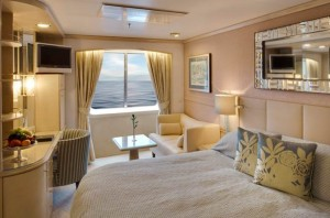 Deluxe Stateroom with Verandah of Crystal Symphony