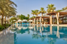 Infinity Pool and Epicure at Desert Palm