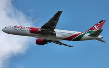 KENYA AIRWAYS AIRCRAFT