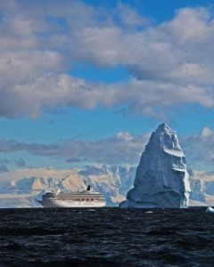 CRYSTAL CRUISES SYMPHONY IN ANTARCTICA