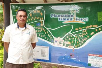 Plantation Island Resort Leisure Activities Manager, Michael Aisea