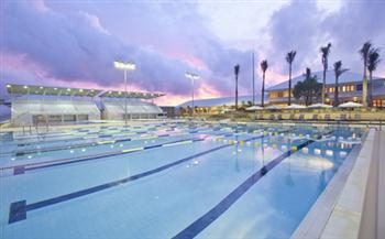 Stealing time: Thanyapura's Olympic Swimming Pool, where stars of the Australian swimming team are striving to find the winning edge.