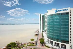 The 179-room Wyndham Guayaquil, located in downtown Guayaquil along the Guayas River, is the first hotel in Ecuador to fly the Wyndham Hotels and Resorts(R) brand flag and the fifth Wyndham Hotel Group property in the country.