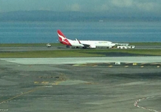 Twitpic of QF plane in Auckland