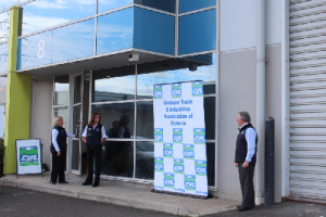 CIA Victoria's new headquarters in West Melbourne brings all its operations under one roof, along with training and meeting rooms and extensive storage.