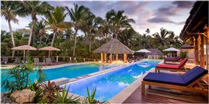 Vahavu  Adults Only Pool Opens at Outrigger Fiji