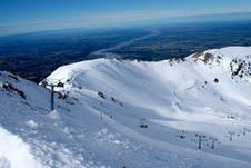 Stunning view from the summit at Mt Hutt 40 years after opening