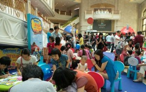 For kids and kids at heart who want to get involved, a host of Smurf-themed booths will keep fans of all ages entertained