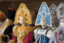 Russian dolls ... some of the treasures you'll experience on Travelmarvel's 12-day river cruise.