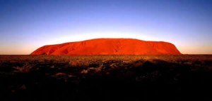 Uluru (formerly Ayers Rock) in Northern Territory, Central Australia