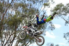 A small taste of what FMX rider Brenton Drager will pull out of the bag at Saturday's Parklife Invitational