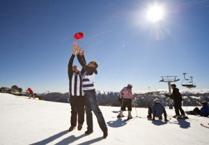 footy  @ Falls Creek, Nick Noble & Adam Horn