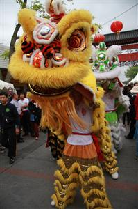 WHAT'S an Asian festival without a lion dance?
