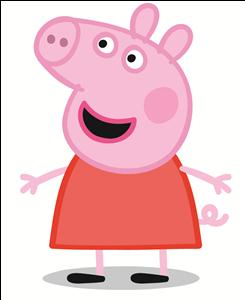 PEPPA Pig a cheeky favourite with the children.