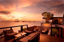 Sunset at Aura Lounge