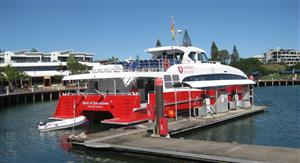 The Spirit of Queenstown gets ready to sail to Bluff, New Zealand_media