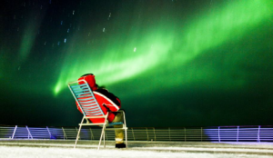 Seek the Northern Lights from deck
