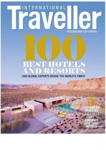 International Traveller front cover '100 Best Hotels and Resorts'
