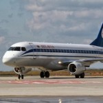 Belavia-Belarusian Airlines arrives at Budapest Airport