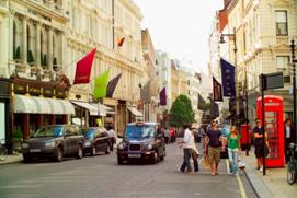 Bond Street - right in the heart of the London Luxury Quarter