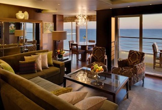 Crystal Symphony - Crystal Penthouse, Living Room