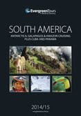 Evergreen Tours 2014 South America Brochure Cover