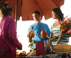 Farmer's markets in Kapaa, Kauai provide a chance to enjoy island's abundance in a small-town environment