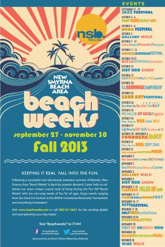 SOUTHEAST VOLUSIA ADVERTISING AUTHORITY BEACH WEEKS