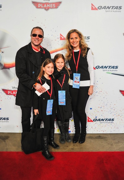 Global Travel Media 187 Blog Archive 187 Neil Perry With Wife Samantha And Two Daughters