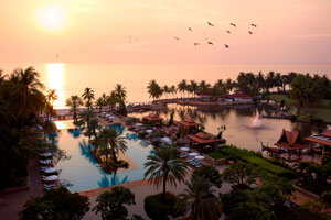 Overview of Dusit Thani Hua Hin