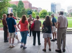 Free, guided walking tours are conducted by the Association of Philadelphia Tour Guides (APT) annually as a celebration of Philadelphia's fascinating visitor sites. (PRNewsFoto/Association of Philadelphia Tour Guides (APT))