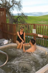 There are natural hot springs in town. (PRNewsFoto/The Travel Paso Robles Alliance)