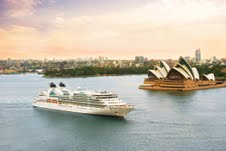Seabourn Odyssey in Sydney Harbour